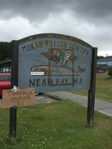 Nah Bay Sign
