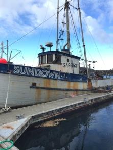 The Sundown- has seen better days!
